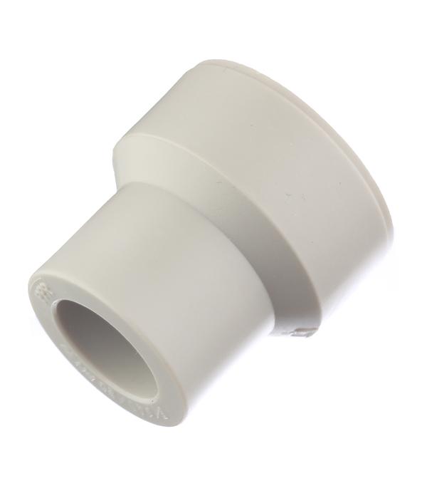 Муфта полипропиленовая переходная 40х20 мм FV-PLAST серая стоимость