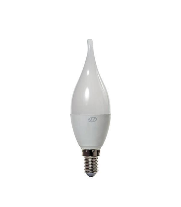 купить Лампа светодиодная Е14 7W FC37 свеча на ветру 4000K холодный свет по цене 82 рублей