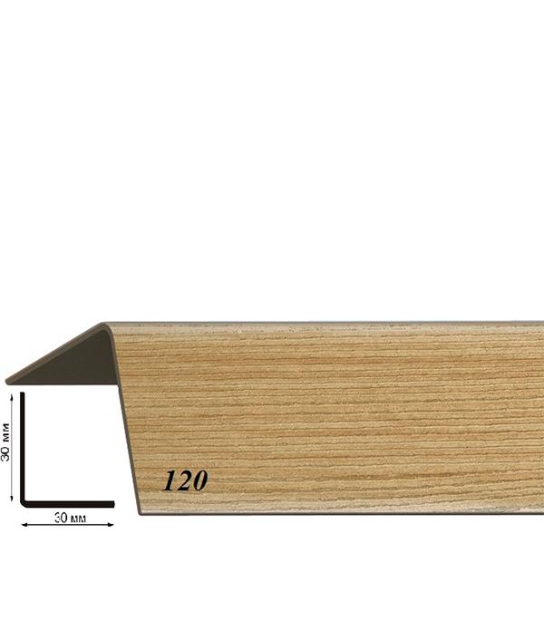 Угол пластиковый с тиснением 30х30х2700 дуб рустикальный 120 угол пластиковый с тиснением 30х30х2700 бук натуральный 155