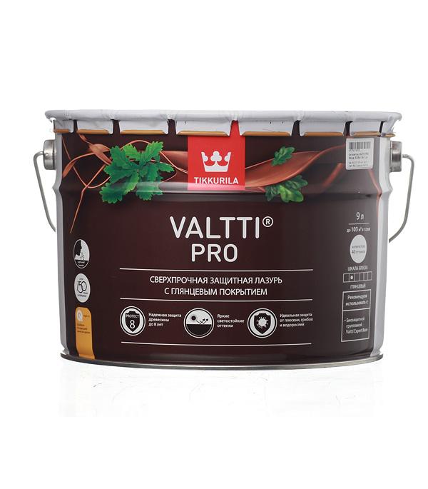 цена на Антисептик Tikkurila Valtti Pro декоративный для дерева бесцветный 9 л