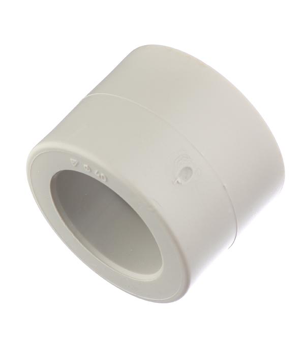 Муфта полипропиленовая 40 мм FV-PLAST серая стоимость
