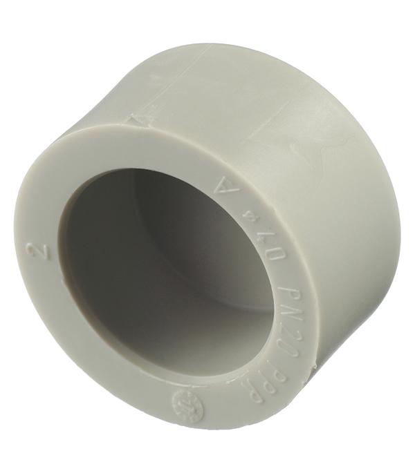 Заглушка полипропиленовая FV-PLAST (229040) 40 мм серая