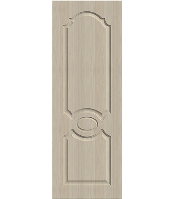 Дверное полотно экошпон Aфина беленый дуб мелинга 9М 800х2000 мм глухое без притвора корпус замка palladium 2000 хром
