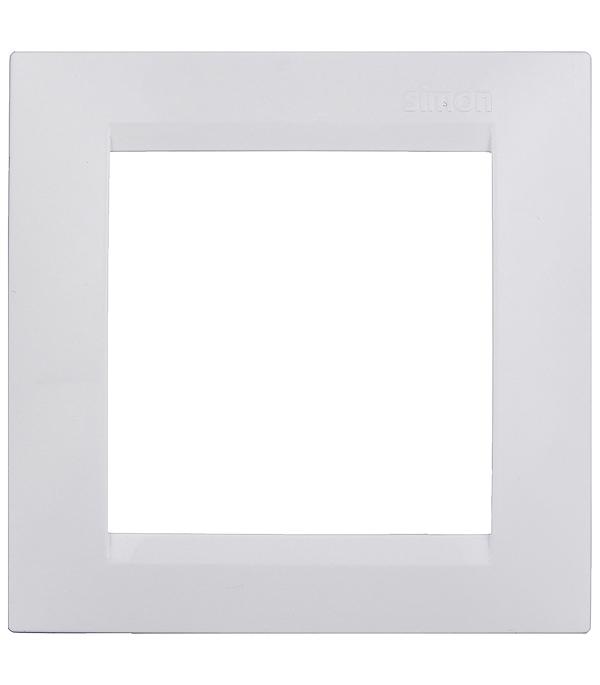 Купить Рамка одноместная Simon 15 белая, Белый