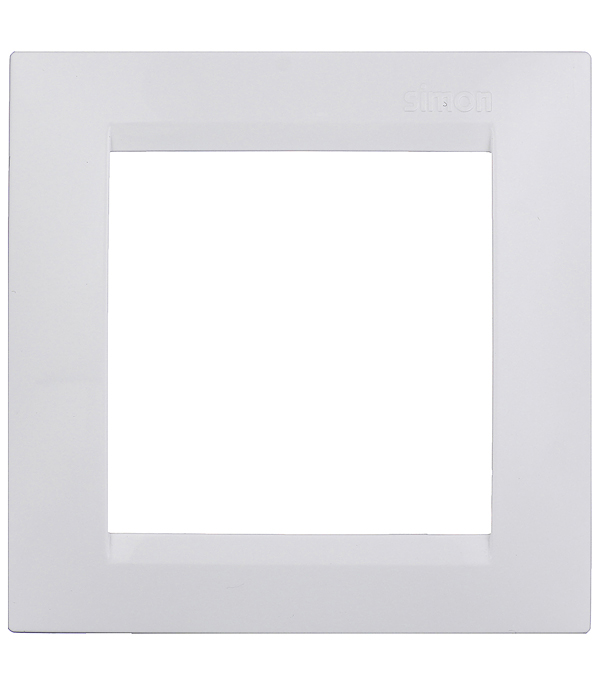 Рамка одноместная Simon 15 белая simon
