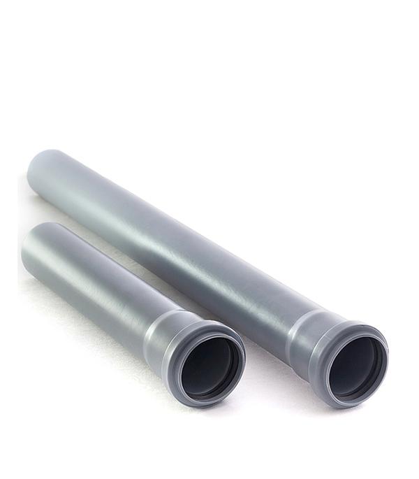 Труба канализационная внутренняя 50х1000 мм, РТП труба канализационная внутренняя 32х250 мм ртп