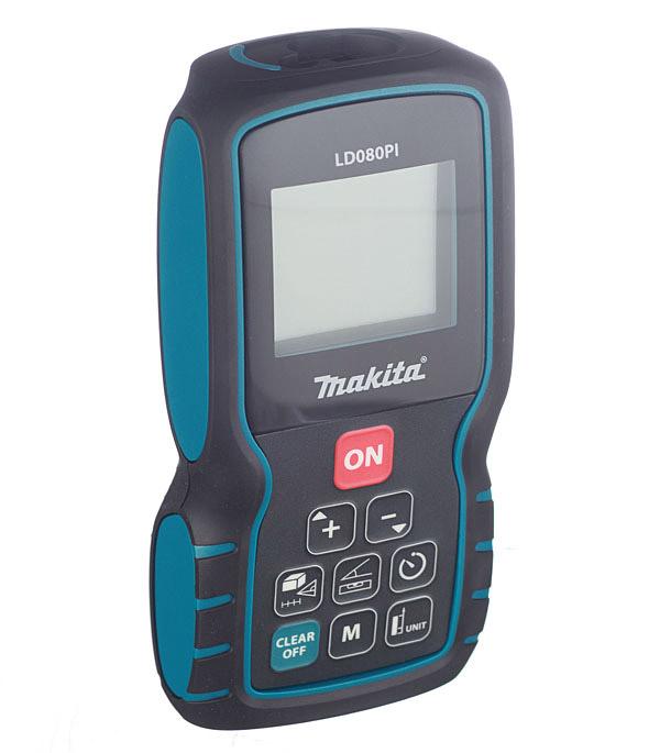Дальномер лазерный Makita LD080PI 80 м дальномер makita ld080p