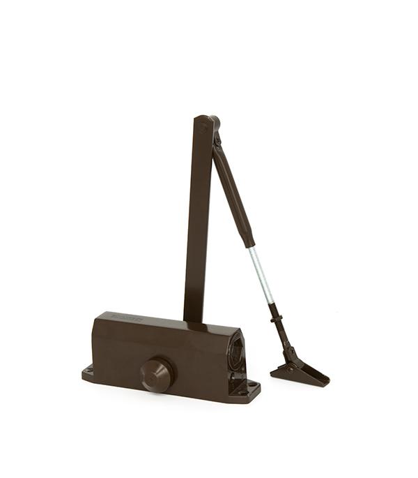 Доводчик дверной ФЗ 40-60 кг коричневый цена