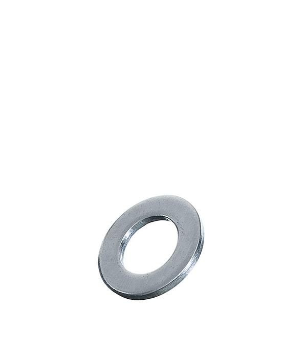 Шайбы оцинкованные 10х20 мм DIN 125А (100 шт) шайбы оцинкованные 10х20 мм din 125а 100 шт
