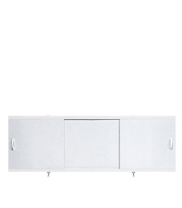 Экран под ванну ALAVANN Престиж 150см пластик белый алюминиевая рама