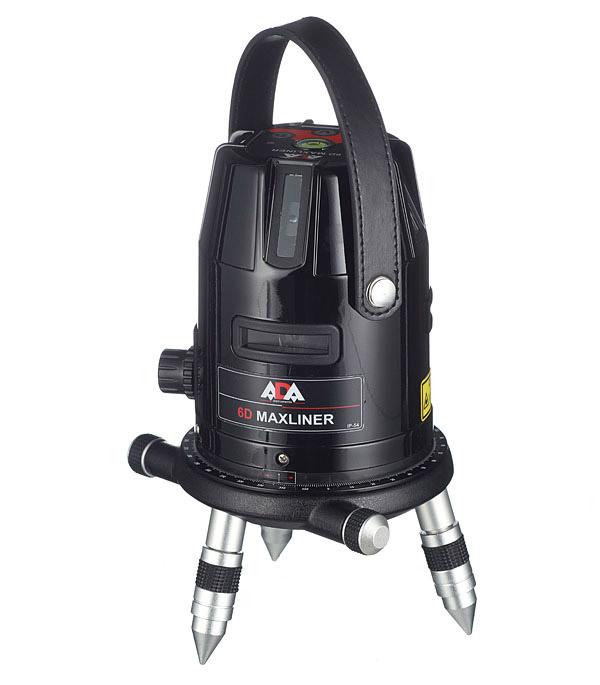 Нивелир лазерный ADA 6D MaxLiner лазерный нивелир ada rotary 400 hv servo а00458