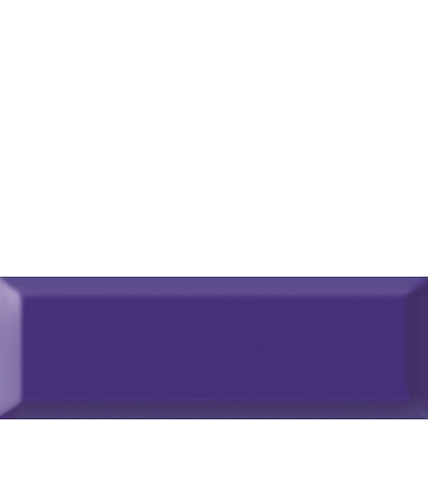 Плитка облицовочная Метро 100х300х8 мм кобальт (21 шт=0.63 кв.м) плитка декор 100х300х8 мм метро гжель 01 бело синий