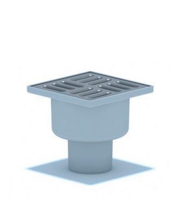 Трап вертикальный решетка сталь 100x100 50 мм н/регулируемый TA 5202 душевой трап pestan square 3 150 мм 13000007