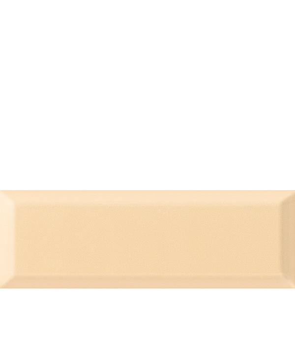 Купить Плитка облицовочная Метро 100х300х8 мм светло-бежевая (21 шт=0.63 кв.м), Gracia Ceramica, Бежевый
