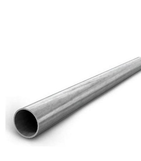 Купить Труба стальная электросварная оцинкованная 76х3.5х3000 мм, Оцинкованная сталь