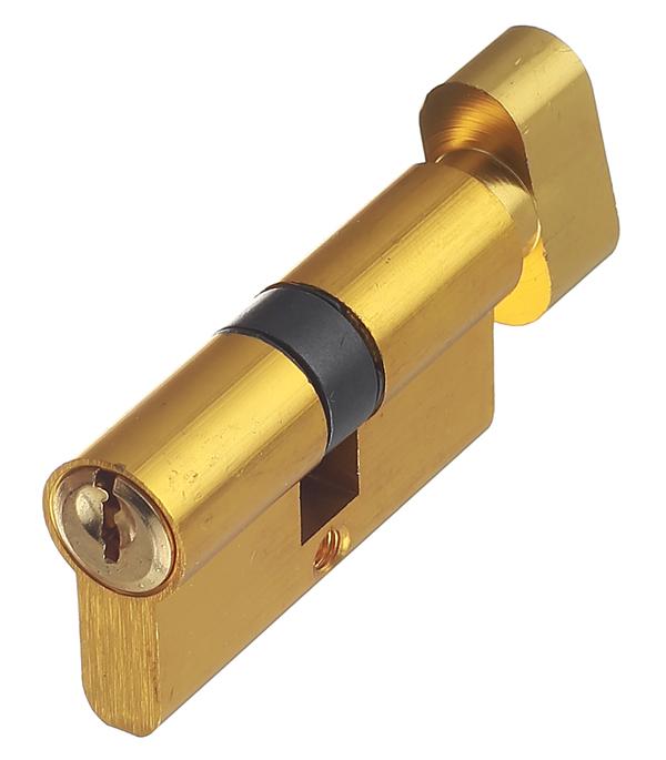 Цилиндровый механизм ФЗ E AL 60 PB Т01 латунь цилиндровый механизм фз e al 70 pb латунь