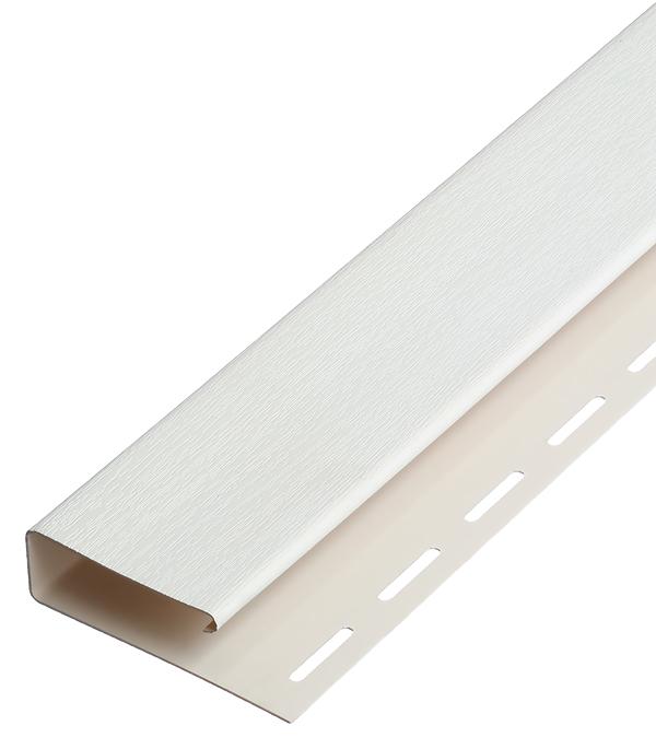 Наличник J-профиль Vinyl-On 3660 мм белый сайдинг vinyl on планка финишная 3660 мм белая