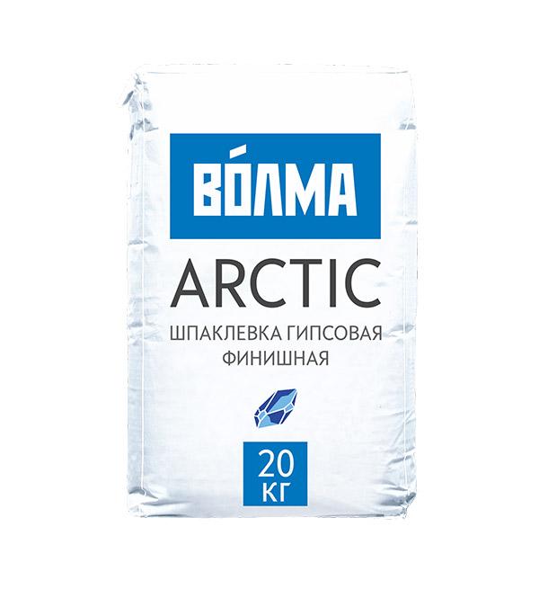цена на Шпаклевка гипсовая финишная ВОЛМА Arctiс 20кг