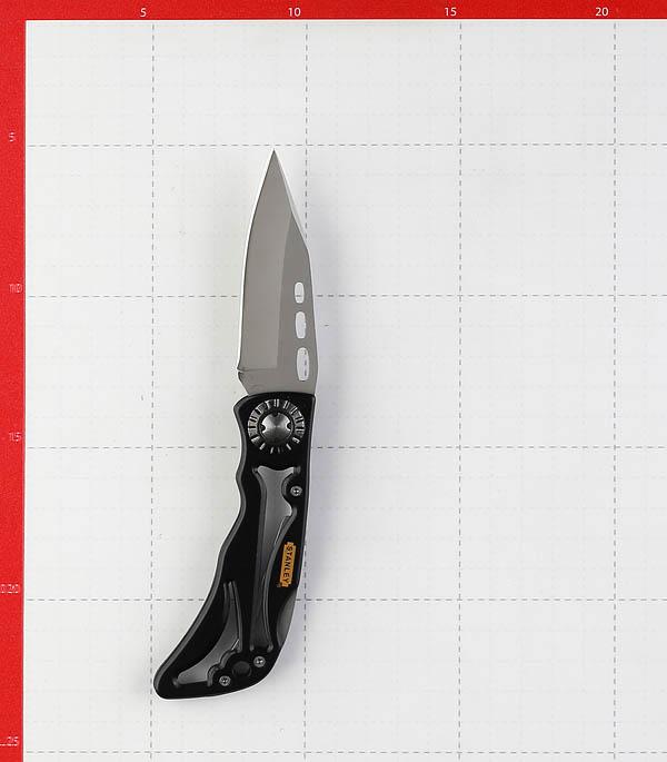 Нож строительный Stanley Skeleton с выдвижным лезвием складной стальной корпус фото