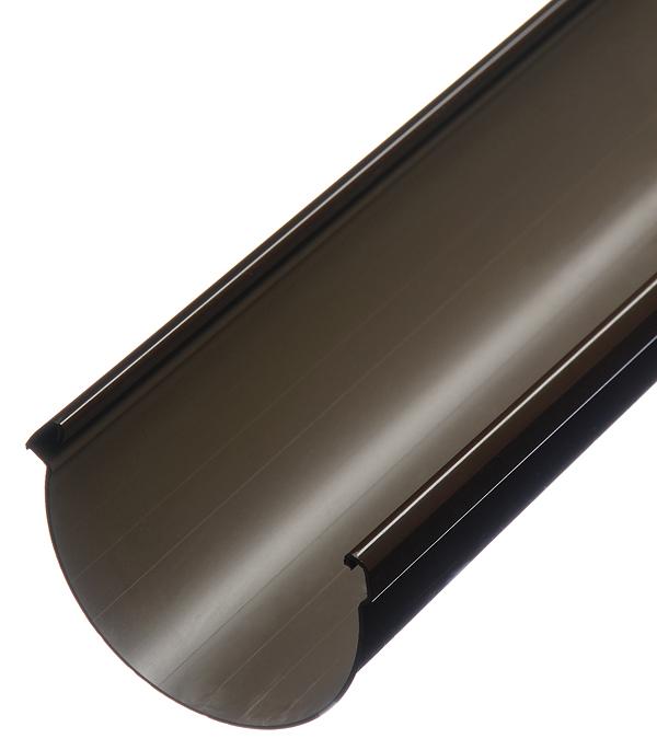 Желоб водосточный пластиковый Docke Lux 140 мм 3 м шоколад желоб водосточный пвх profil 90мм коричневый 3 м