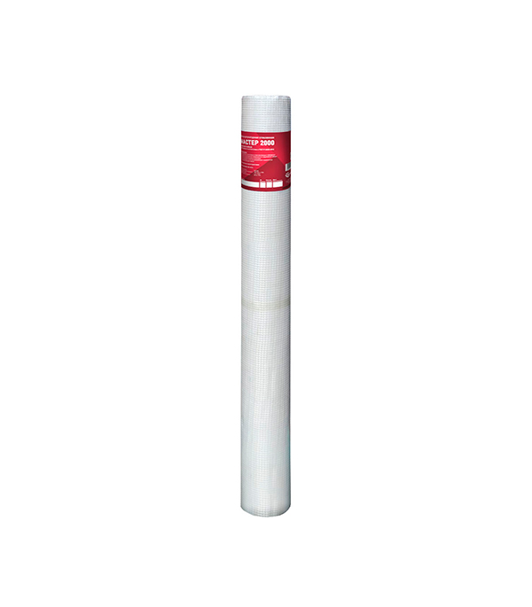 Сетка стеклотканевая фасадная ячейка 5х5 мм 160 г/м2 рулон 1х50 м ГОСТ