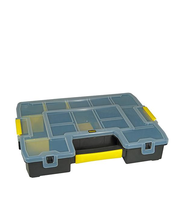 Органайзер для крепежа Stanley 37,5 х 29,2 х 6,7 см органайзер для мелочей двухсторонний цвет зеленый 11 см х 7 5 см х 3 см