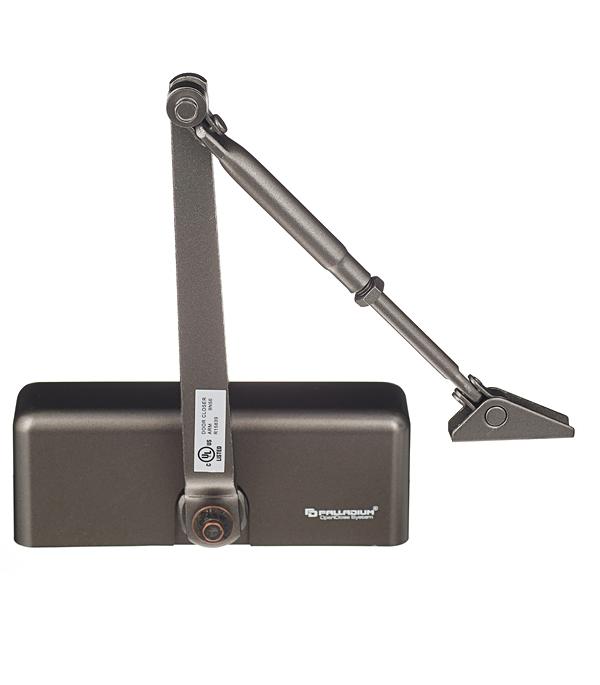 Доводчик дверной Palladium 1060 40-60 кг коричневый доводчик palladium 1060 40 60 коричневый