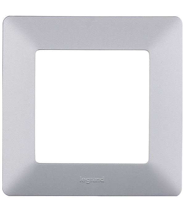 Рамка Legrand Valena LIFE 754137 одноместная универсальная алюминий рамка legrand valena одноместная алюминий 770151