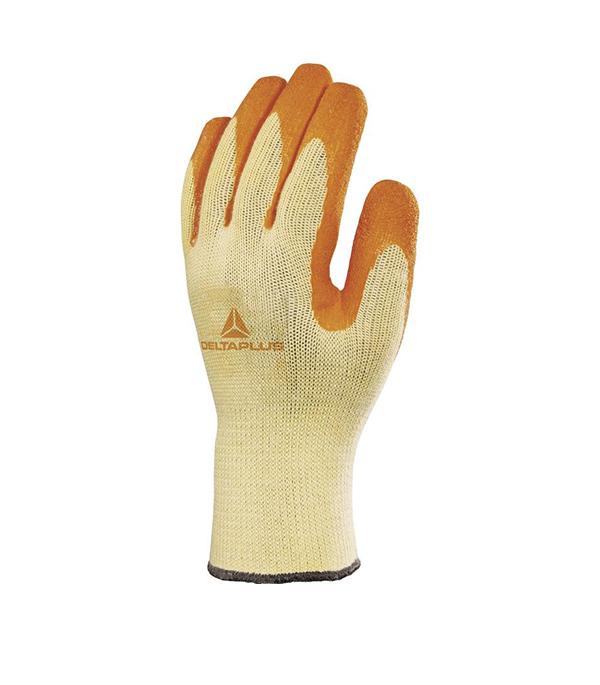 Перчатки Delta Plus VE730 трикотажные с рельефным латексным покрытием  размер 10 (1 пара) стоимость