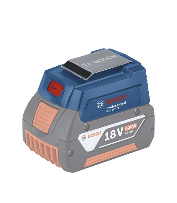 Адаптер для зарядки Bosch GAA 18V-24 (1600A00J61) 6Ач