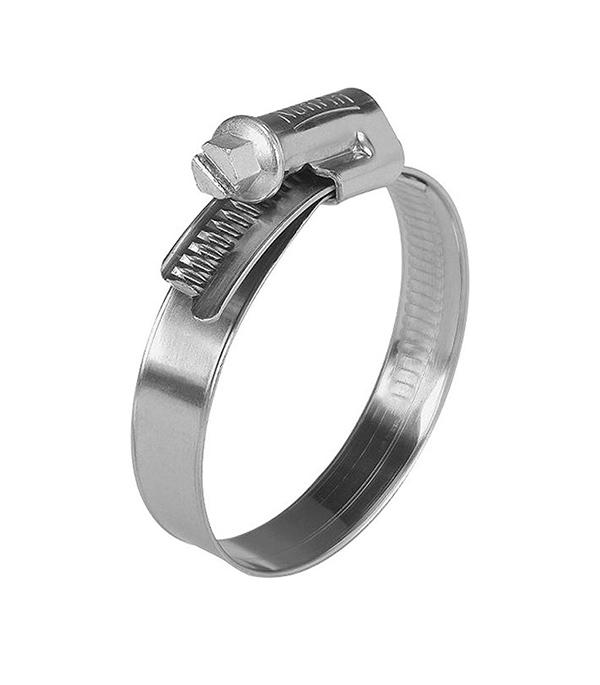 купить Хомут обжимной 16-25 мм нержавеющая сталь (2 шт.) онлайн