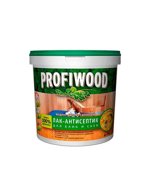 цена на Лак для бань и саун Profiwood Empils в/д 2,5 л /2,5 кг