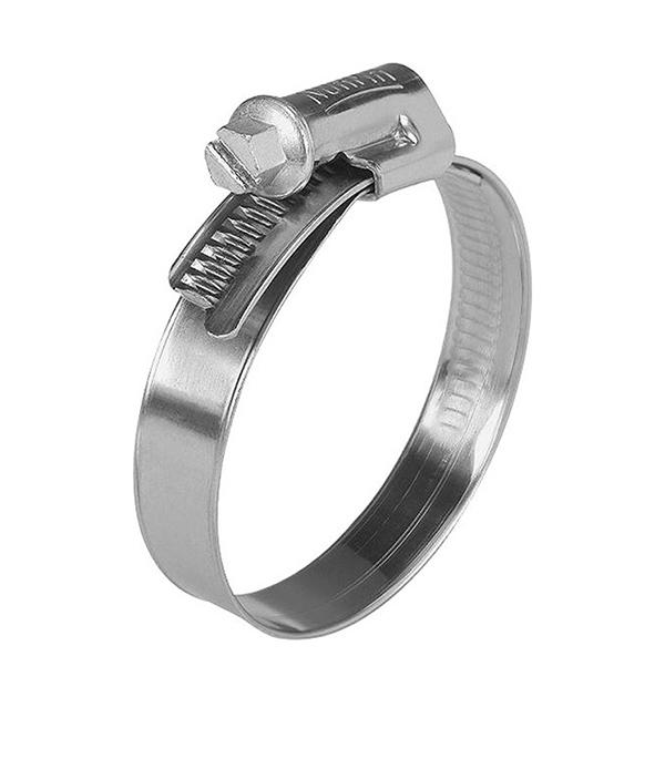 купить Хомут обжимной 10-16 мм нержавеющая сталь (2 шт.) онлайн
