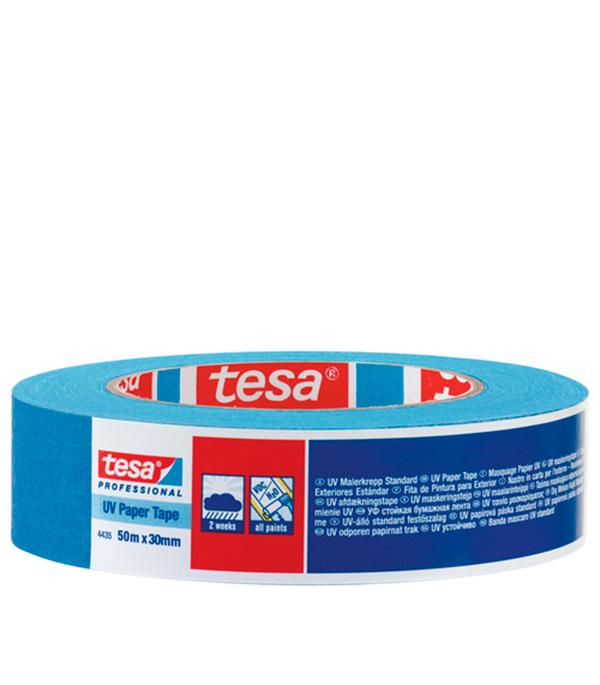 Лента малярная Tesa синяя 30 мм 50 м УФ-стойкая
