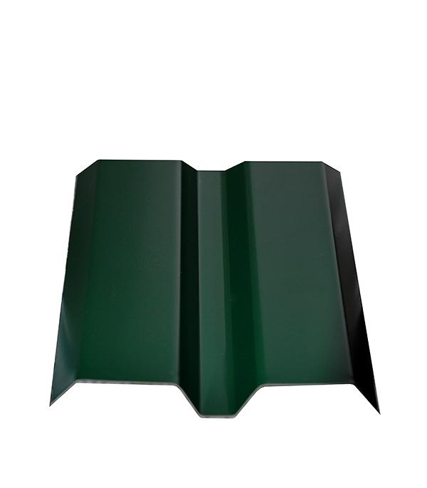 Купить Евроштакетник толщина 0, 4 мм 87х1800 мм зеленый, Зеленый, Сталь