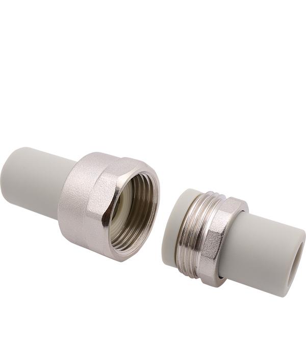 Купить Муфта разборная 40 мм FV-PLAST серая