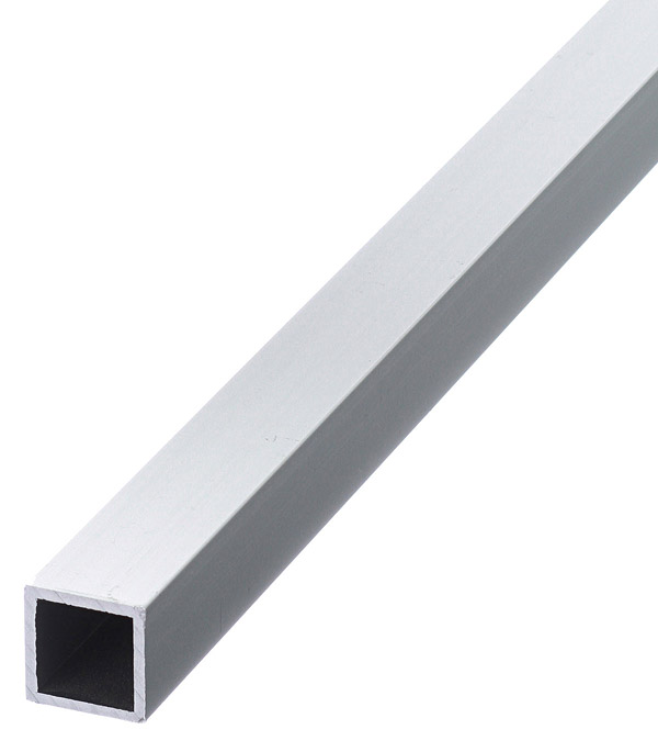 Трубка квадратная алюминиевая 15х15х1,5х2000 мм анодированный