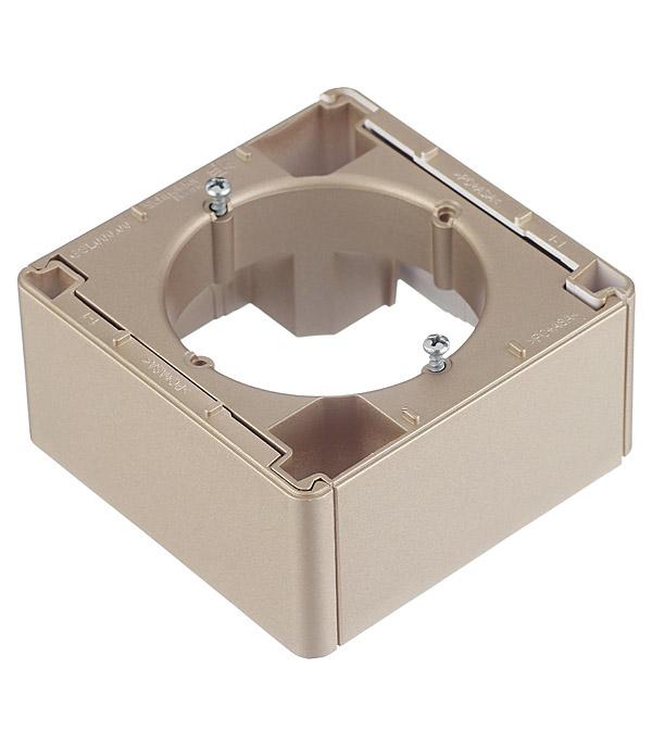 Коробка наружного монтажа Schneider Electric Blanca GSL000400 титан фото