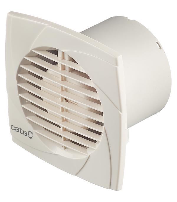 Вентилятор осевой d100 мм Cata B-10 Plus слоновая кость вентилятор осевой cata mt 100 d100 мм белый