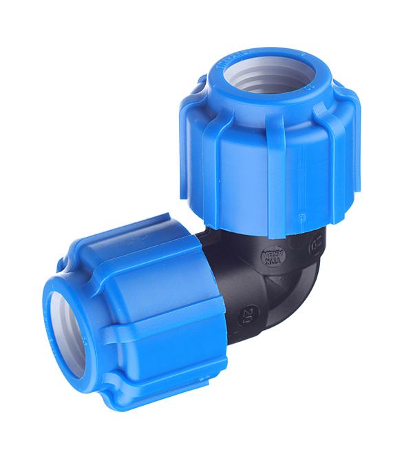 Угол ПНД компрессионный 20х20 мм ТПК-АКВА