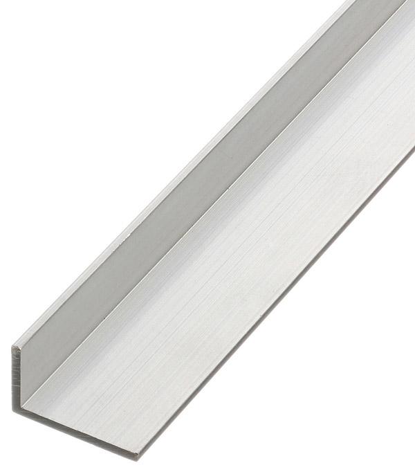 Угол алюминиевый 25х15х2х2000 мм стоимость