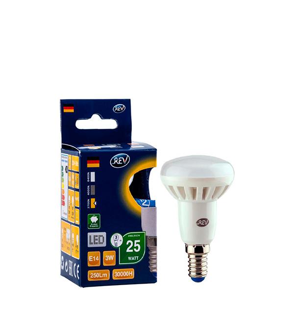 Лампа светодиодная лампа REV E14 3Вт 2700K теплый свет R39