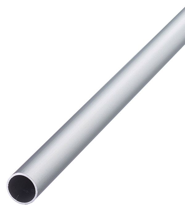 Трубка алюминиевая круглая 15х1х2000 мм анодированная