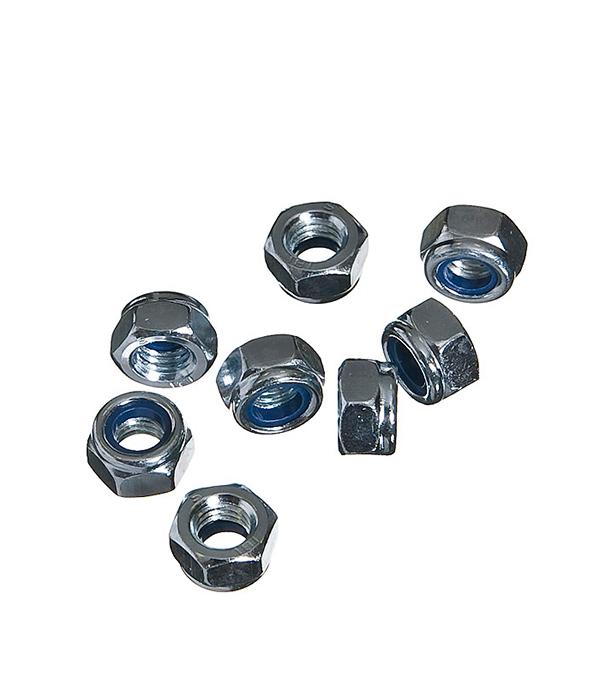 Гайки самостопорящиеся оцинкованные М8 мм DIN 985 (8 шт)