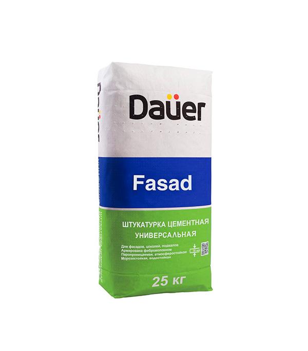 Штукатурка цементная армированная DAUER FASAD 25 кг