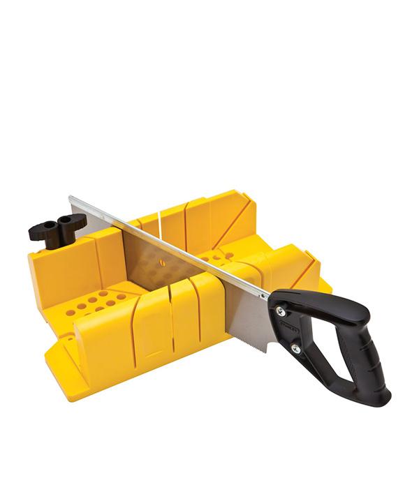 Стусло Stanley 300 х 130 х 80 мм с ножовкой 350 мм цены