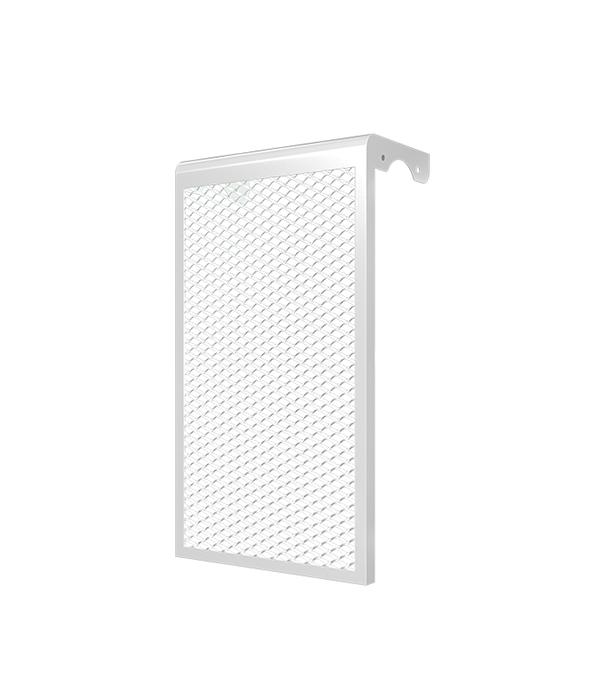 Декоративный металлический экран на радиатор 5-ти секционный