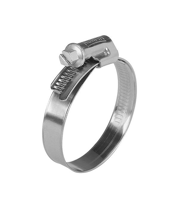 купить Хомут обжимной 8-12 мм нержавеющая сталь (2 шт.) онлайн