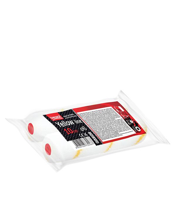 Валик Beorol Yellow Line полиамид 100 мм для красок грунтов антисептиков и лаков на водной и ал