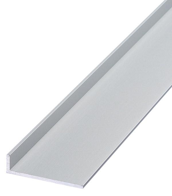 Уголок алюминиевый 40х10х2х1000 мм анодированный угол алюминиевый 40х10х2х1000 мм анодированный